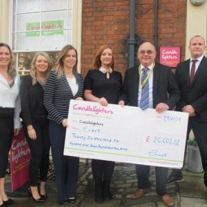 Leeds Company Celebrate Fundraising Success for Local Children's Cancer Charity
