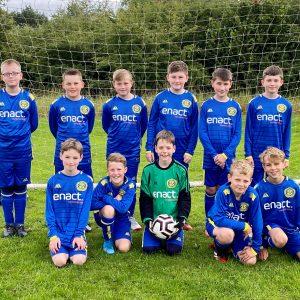 Enact Sponsor Calverley United Under 12s