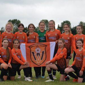 Trophy win for Woodkirk Valley FC U12 Girls